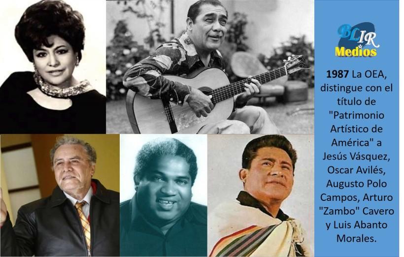 Grandes de la musica OEA
