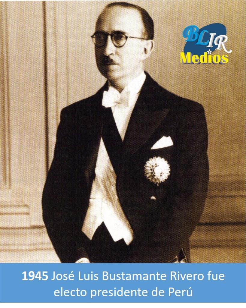 José Luis Bustamante Rivero