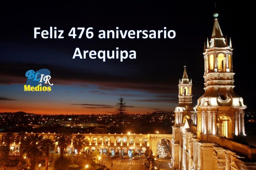 Aniversario de Arequipa
