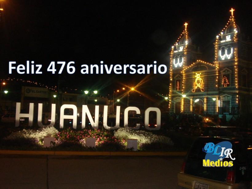 Aniversario de huanuco