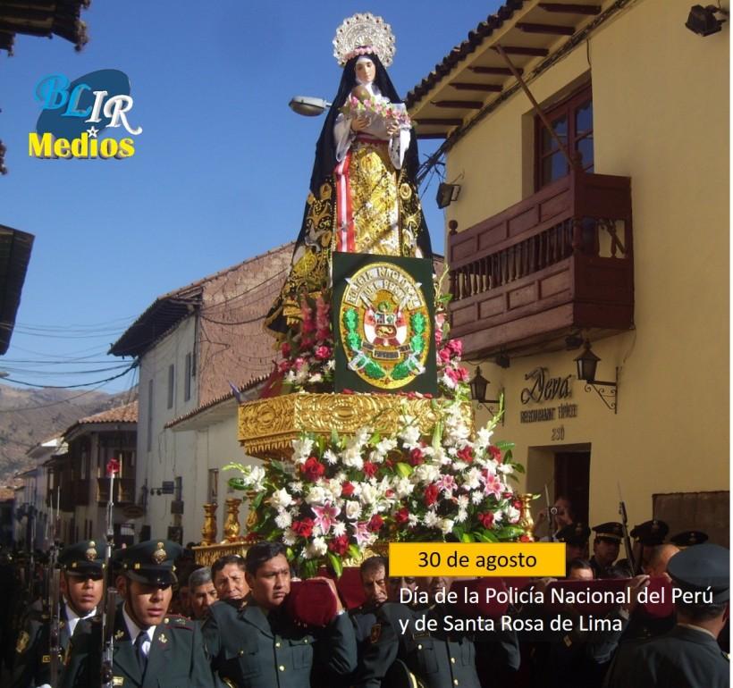 Dia de la Policia Nacional del Peru