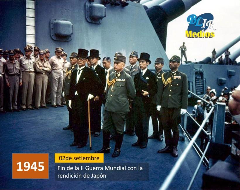 Fin de la II Guerra Mundial.